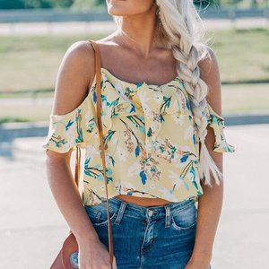NWT On the Road Bailey Off the Shoulder Top – S